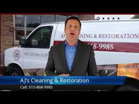 AJ's Cleaning & Restoration Des Moines Remarkable  Five Star Review by Amanda L.