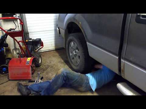 Garage Tip - How to remove a stuck tire
