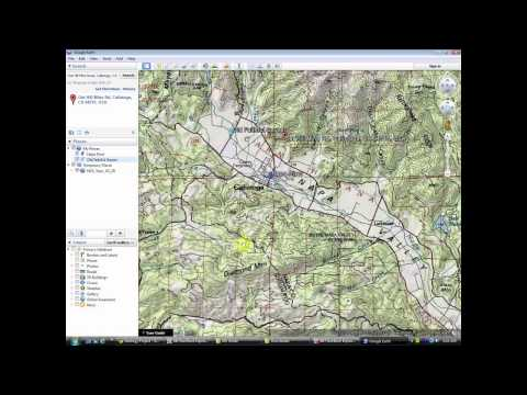 Make a Printed Map Using Google Earth and Drawing