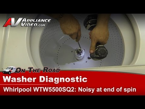 Whirlpool, Kenmore, Maytag &  Roper Washer diagnostic - Noisy squealing in spin cycle