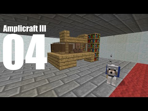 Amplicraft 3: Episode 4 - Villagers into Minecarts in 1.9
