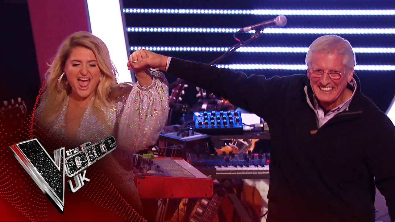 Meghan Trainor's Dad Shows off His Piano Skills with 'Shake Rattle and Roll'! | The Voice UK 2020