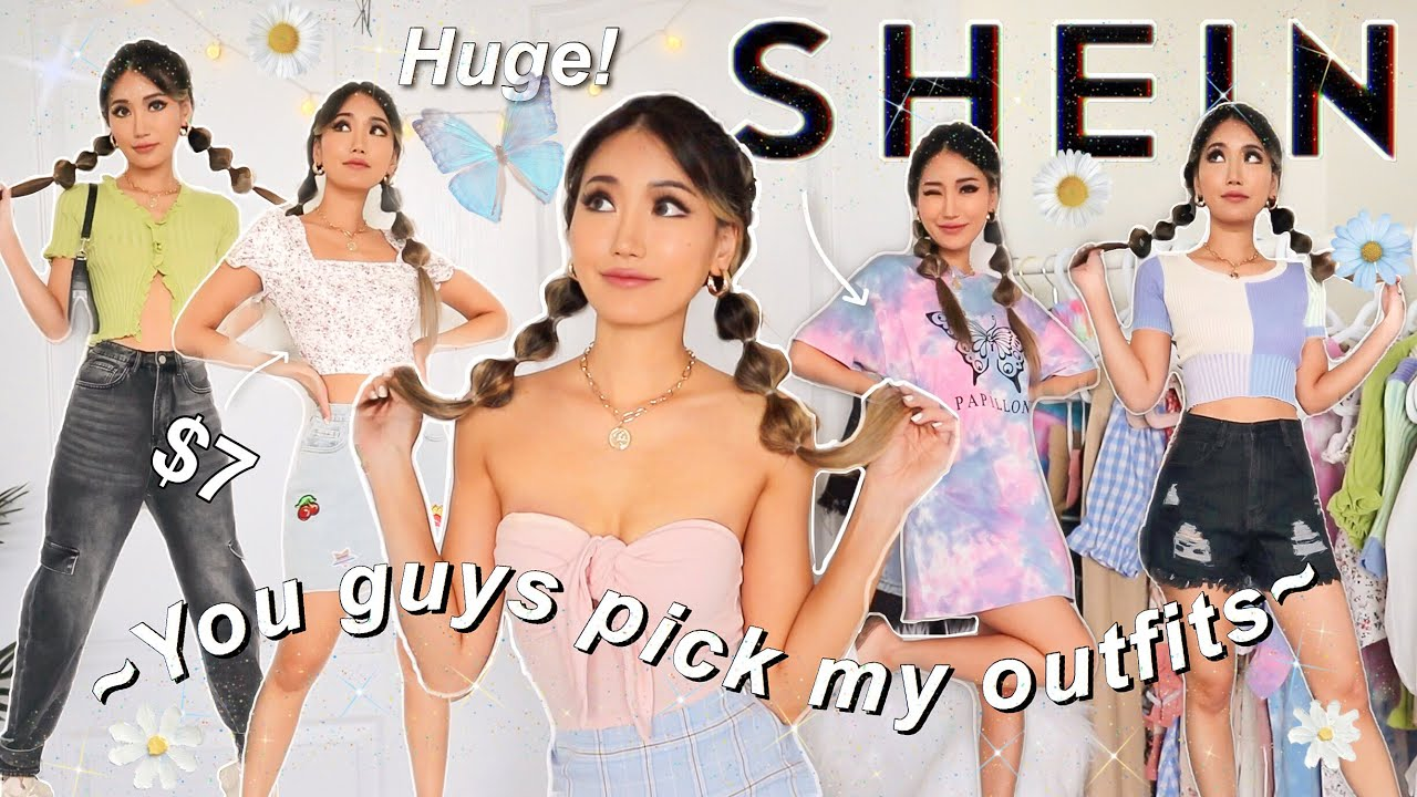 MASSIVE SHEIN TRY ON HAUL *not sponsored* SUBSCRIBERS CHOOSE MY OUTFITS 😱