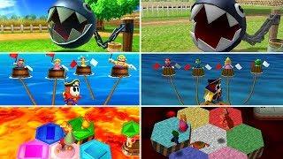 All 100 Minigames Comparison (Original vs. Remake) - Mario Party: The Top 100
