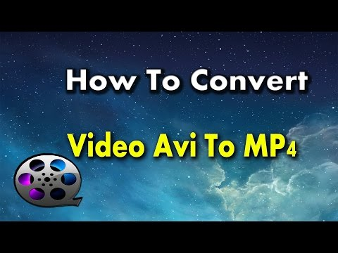 How to convert from AVI to MP4  - PC,Laptop