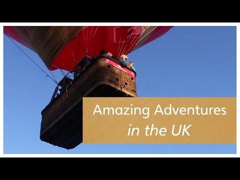 Amazing Adventures in the UK