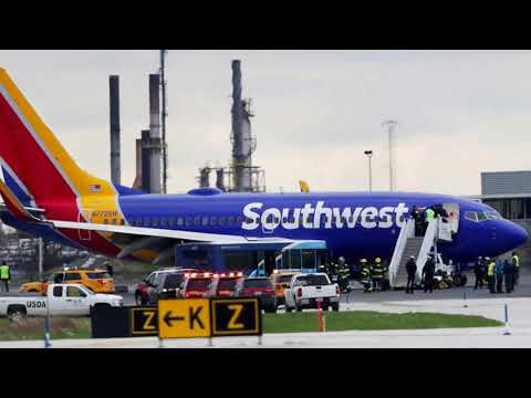 Audio between Southwest Flight 1380 and the control tower in Philadelphia