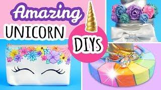 3 Magical Unicorn Themed DIYS | Unicorn Decor