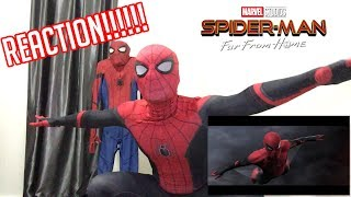 Download SPIDER-MAN: FAR FROM HOME - Official Teaser Trailer REACTION by Spiderman Far From Home Video