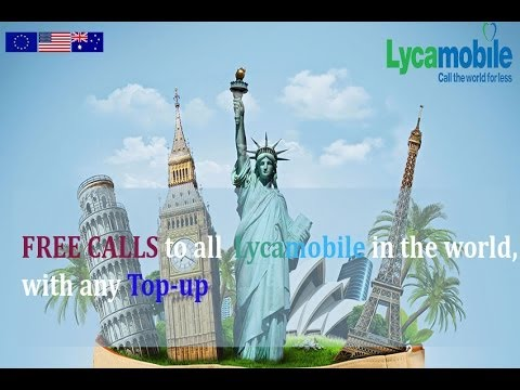 LycaMobile Free Calls video competition