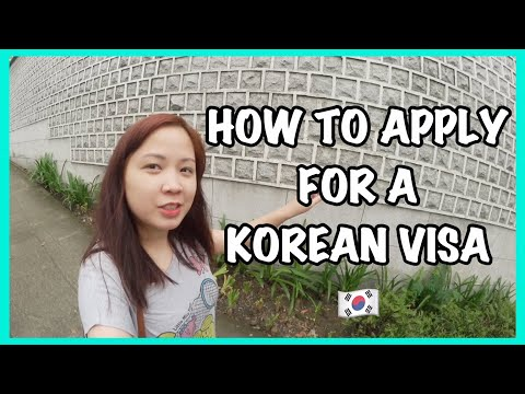 VLOG: How to apply for a Korean Visa in the Philippines!