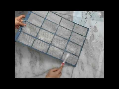 HOW To CLEAN WINDOW AC WITH FILTER || AC CLEANING ROUTINE BY DIVYA