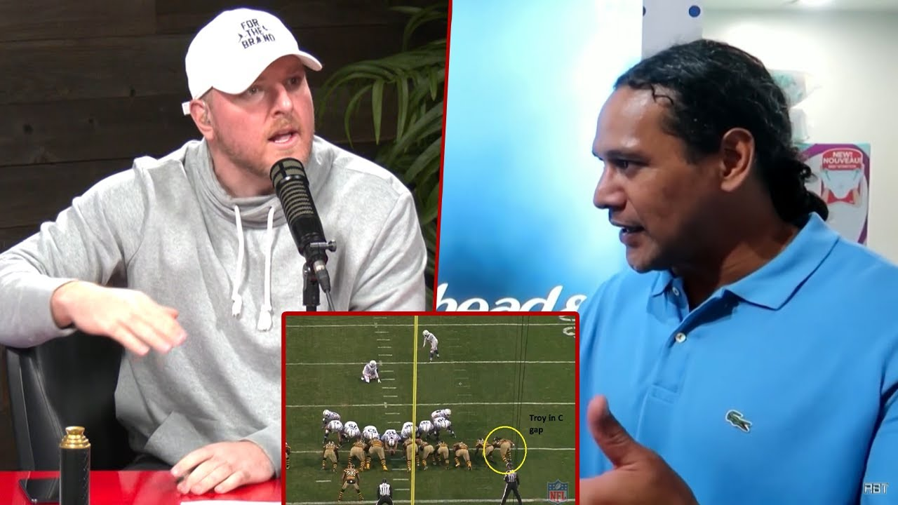 Troy Polamalu FINALLY Answers Why He Lined Up In The C-Gap..