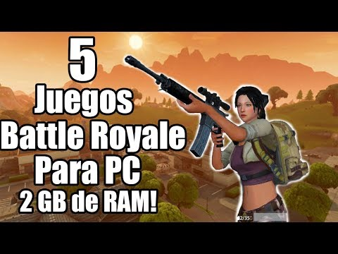 Top 5 Juegos Battle Royale Para Pc Gratuitos Pocos Y Medios