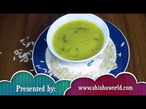 Homemade Baby Food Recipe - Spinach Poha (8 to 12 months)