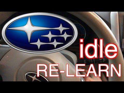Subaru idle fix - idle relearn