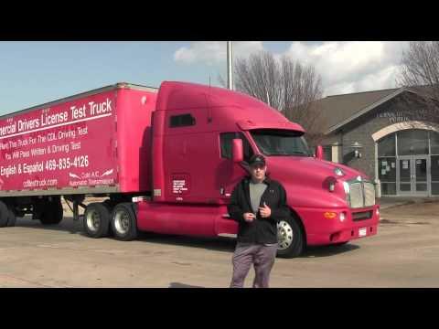 CDL School Texas TX Class A CDL Truck Rentals Call (469) 332-7188