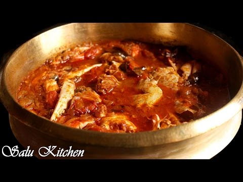How To Make Easy Crab Curry / Njandu Curry