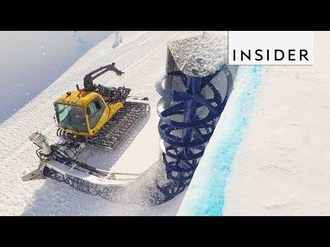 How Snowboarding Halfpipes Are Made