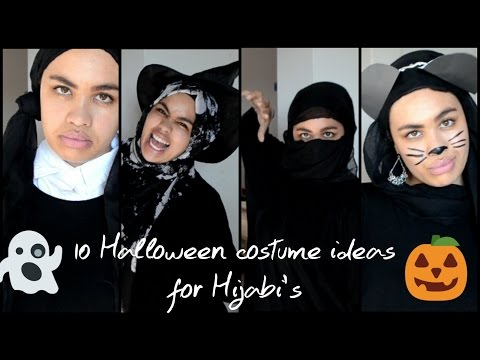 10  Halloween costumes for Hijabi's