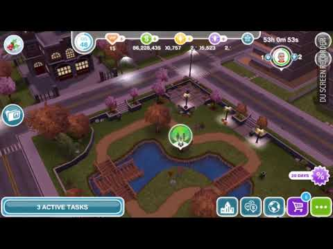 The Sims Freeplay - Travel to the Ice Palace -  Snow Problem Quest