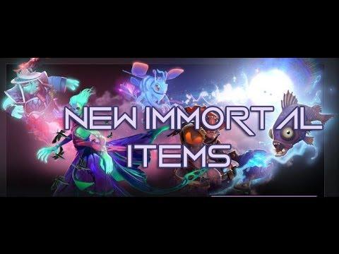 Dota 2 - New Immortal Items TI4 Compendium pt.1