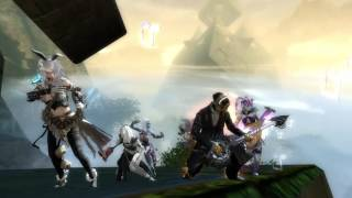 Guild Wars 2 Path of Fire - Bleached Bones Farm Run with