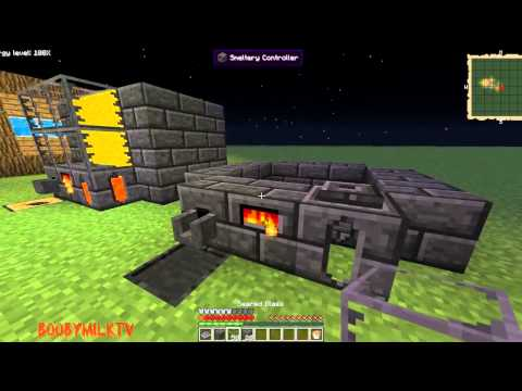 Feed The Beast - How to make a smeltery HD