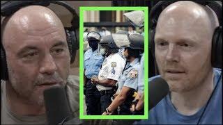 Rogan & Burr on News Media, Minneapolis, George Floyd Protests, Defunding the Police