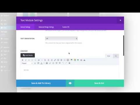 How to Increase the Height of the Text Module in the Divi Theme