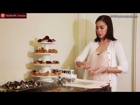 PEPbiz. Bettina Carlos gives a demo on how to make Oreo Cheesecake Cookies