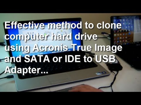 How to clone a laptop hard drive
