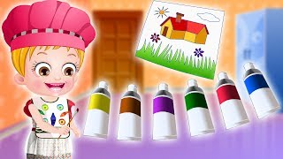 Baby Hazel Learns Colors | More Baby Hazel Games Collection For Kids | Learning Games