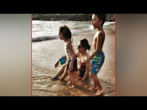 Manyata Dutt holidays in Srilanka with her kids; shares pictures |Filmibeat