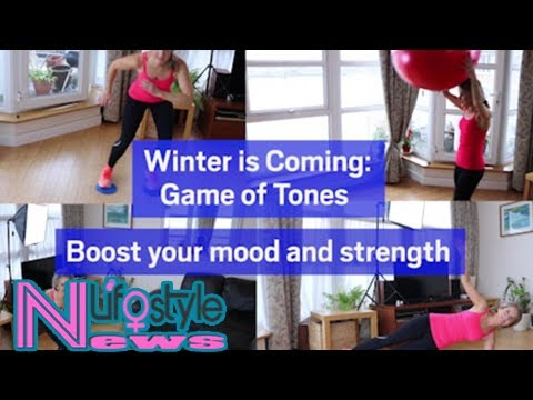 Winter is coming: boost your mood and strength with this workout