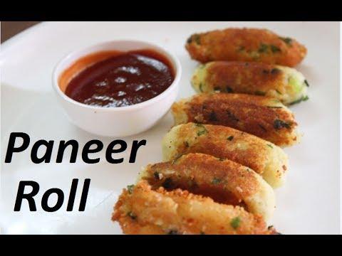 Kids tiffin recipe/Paneer roll recipe by Raks HomeKitchen
