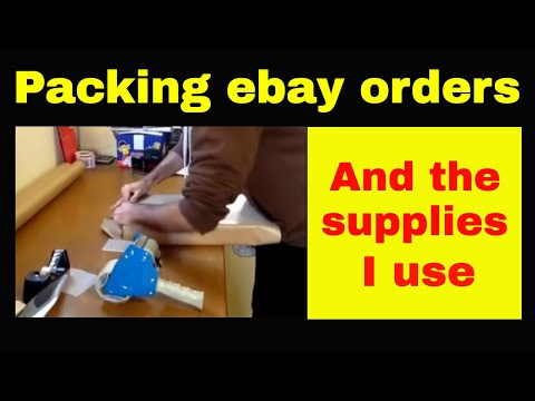 How to sell on ebay - How I package my items for dispatch by Royal Mail