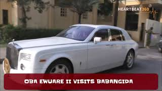 Oba Of Benin, Oba Ewuare II Visits Babangida In Grand Style
