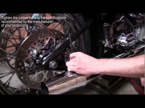 How to Remove, Install, and Change a Rear Tire on a Softail (Narrated)