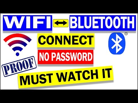 How To Connect WIFI without Password Via BLUETOOTH | NO ROOT