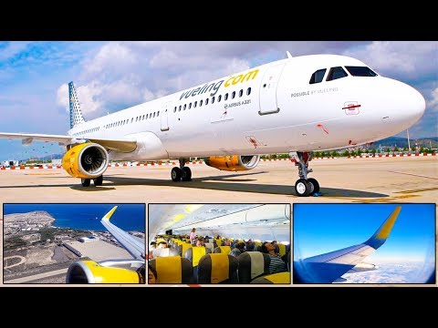 TRIP REPORT | Vueling Airlines | Airbus A321 CEO | Gran Canaria - Barcelona
