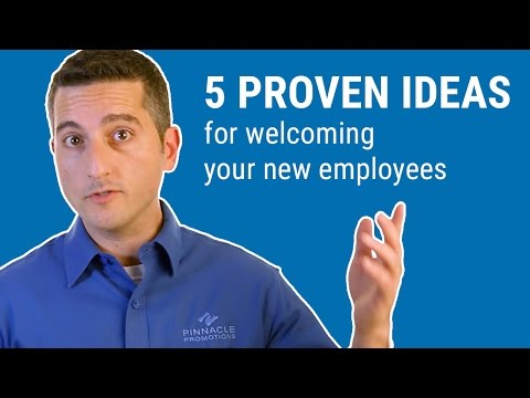 5 Proven Ideas for welcoming your new employees