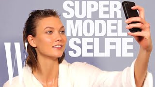 Karlie Kloss and the World's Sexiest Models Show You How to Take a Selfie | W Magazine