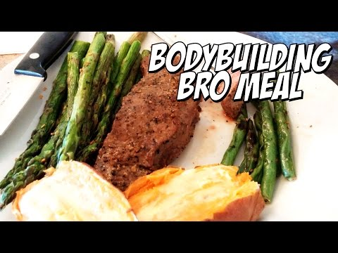 Bodybuilding Bro Meal - How to eat on a cut!