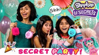 Shopkins Lil Secrets - Unboxing Surprise Party - Toy Master // GEM Sisters