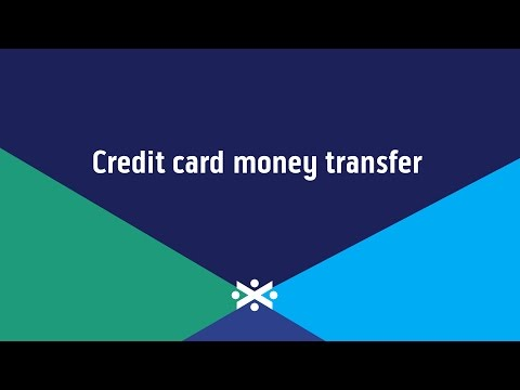 What's a Credit Card Money Transfer? | Bank of Scotland Video