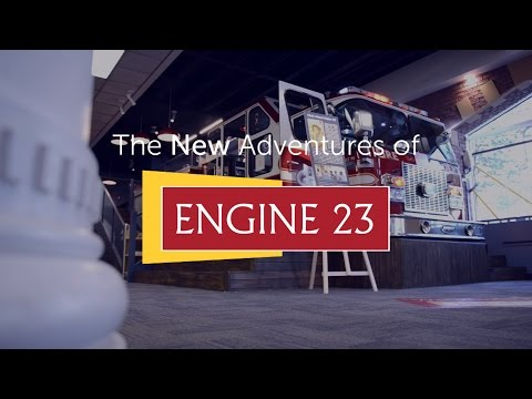 New Adventures of Engine 23 at Central Library