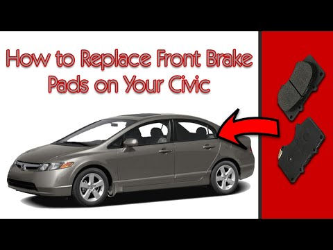 2008 Honda Civic: How to Replace the Front Rotor and Brake Pads