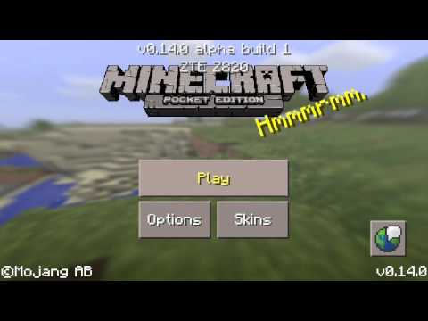 MCPE Cool Seed (NOTCH seed) Minecraft Pocket Edition