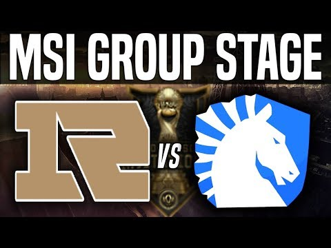 RNG vs TL - MSI 2018 Group Stage Day 3 - Royal Never Give Up vs Team Liquid | LoL MSI 2018
